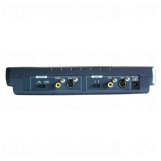 Analog NTSC to PAL, PAL to NTSC Multi-System Video Converter CAM-700 - Back View