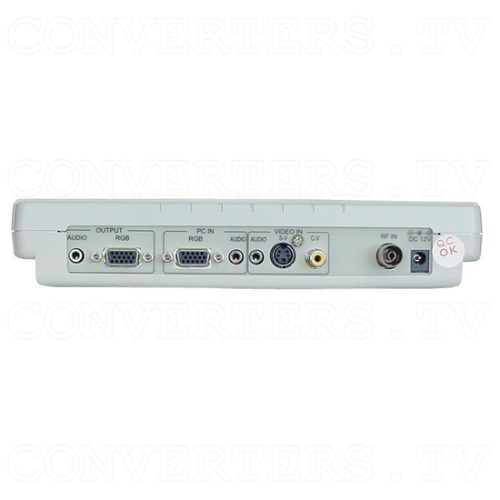 TV/ Video to VGA with PAL Tuner Box (CM-331T) - Back View