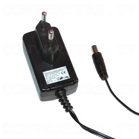VGA to Video Converter - Power Supply 110v OR 240v