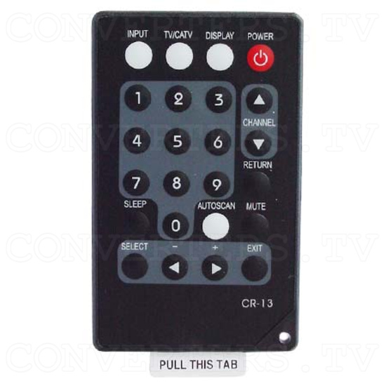 TV/ Video to VGA with PAL Tuner Box (CM-331T) - Remote Control