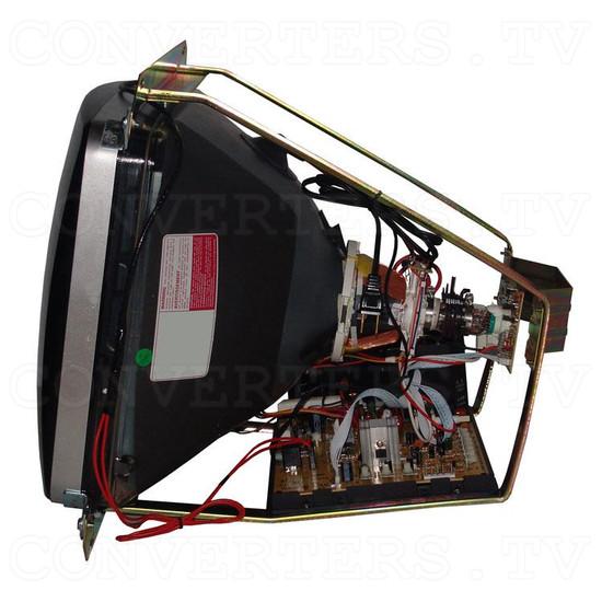 20 Inch CGA EGA VGA CRT Monitor & Chassis - Left View