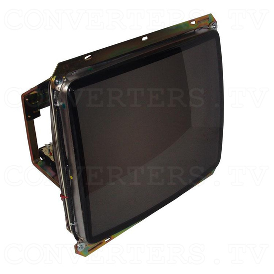 25 Inch CGA CRT Monitor & Chassis - Full View