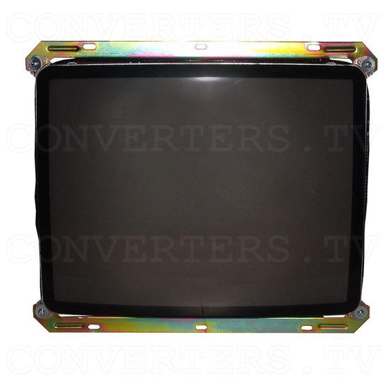 25 Inch CGA CRT Monitor & Chassis - Front View