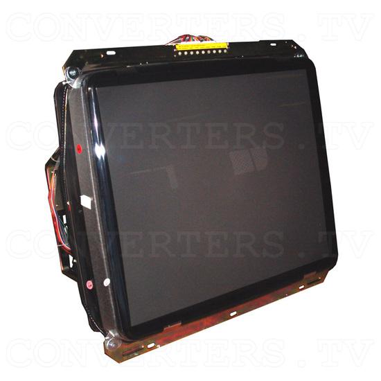 29 Inch CGA EGA VGA CRT Monitor & Chassis - Full View