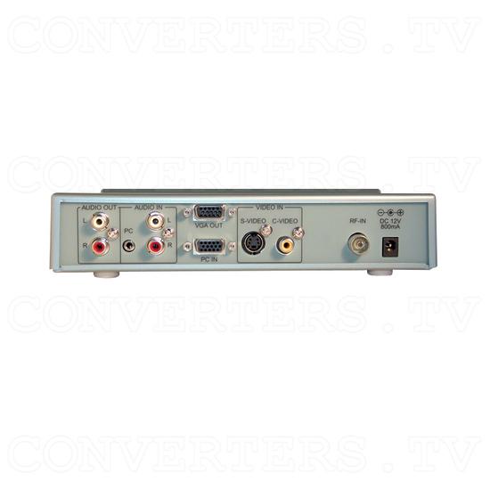 PAL B to VGA/ HDTV Tuner Box CSC-1200T - Back View