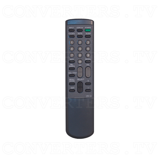PAL B to VGA/ HDTV Tuner Box CSC-1200T - Remote Control