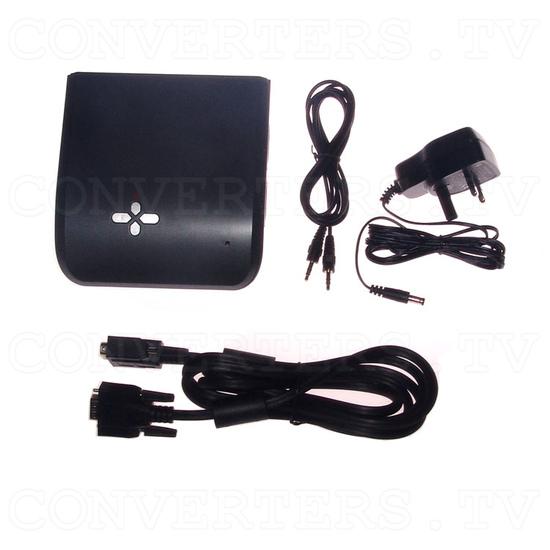 Video to SXGA Converter Box - Full Kit