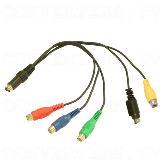 15 Inch CGA EGA VGA to XGA LCD Panel - Comp/SV/CV Converter Cable