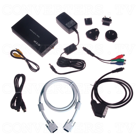 Video RGBs Scart to PC/HDTV DVI Converter - Full Kit