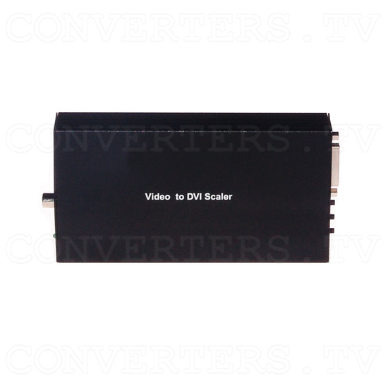 Video RGBs Scart to PC/HDTV DVI Converter - Top View