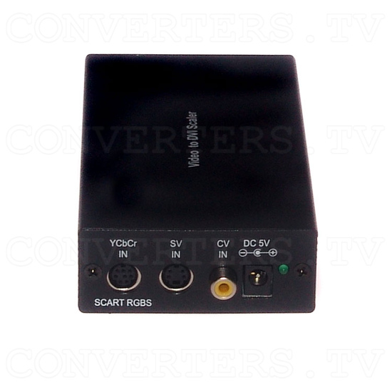 Video RGBs Scart to PC/HDTV DVI Converter - Front View