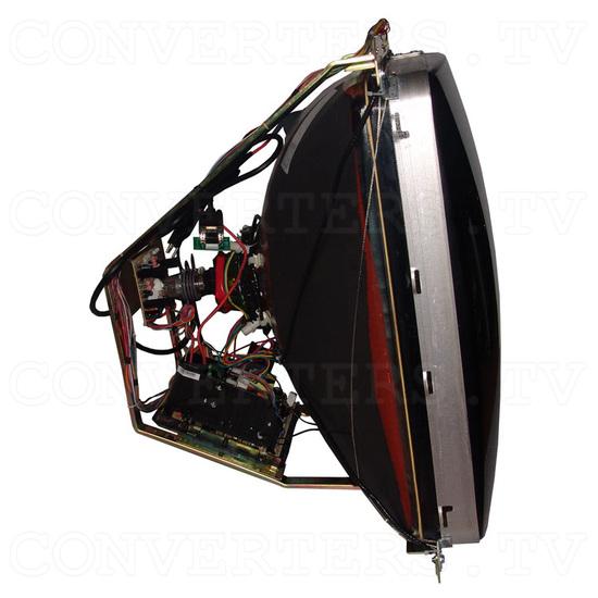 38 Inch CGA EGA VGA CRT Monitor & Chassis - Right View