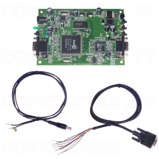 CGA to VGA Converter Gaming Model - Full Kit
