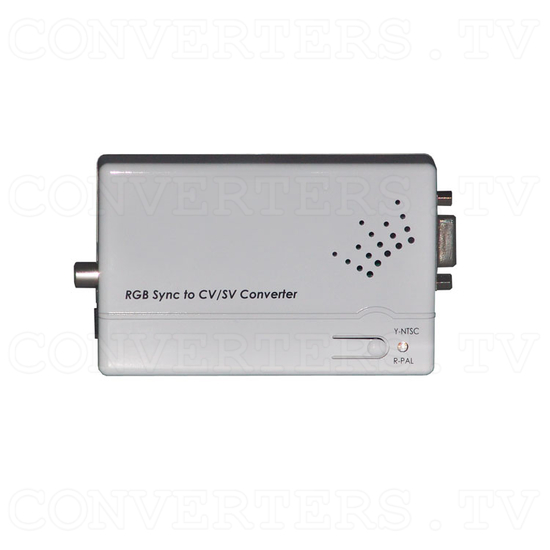 RGB Combined Sync to Video Converter - Top View