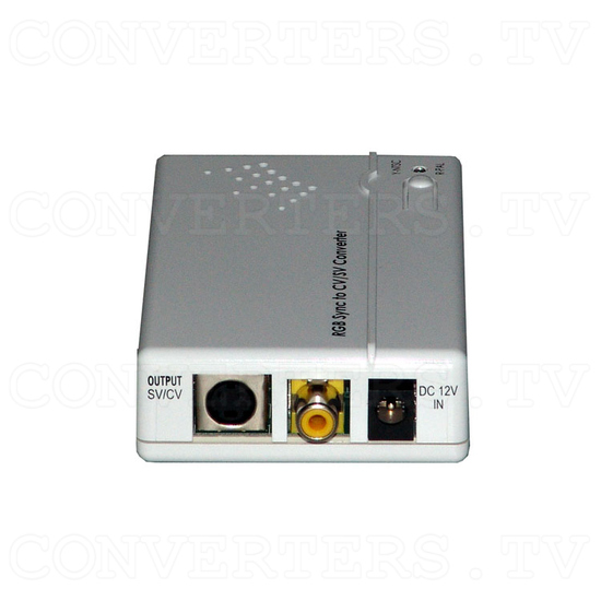 RGB Combined Sync to Video Converter - Back View