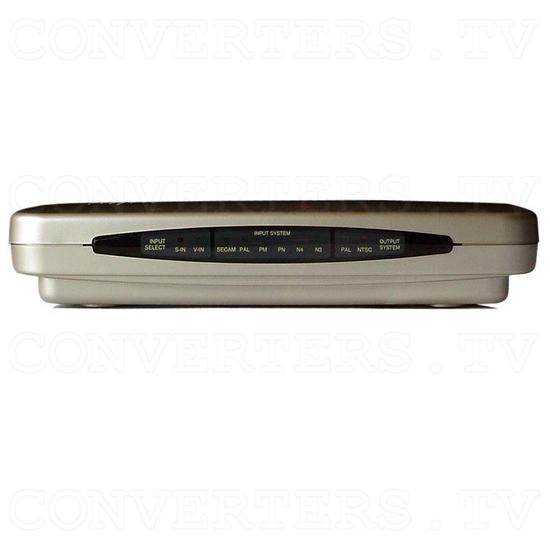 NTSC to PAL (PAL to NTSC) Digital Multisystem Converter - Car Application - Front View