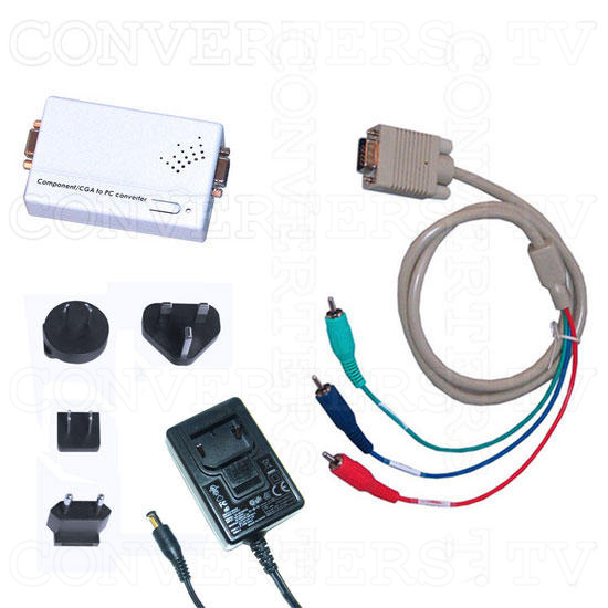 CGA RGB & Component Y-Cb-Cr to WXGA Converter - Full Kit