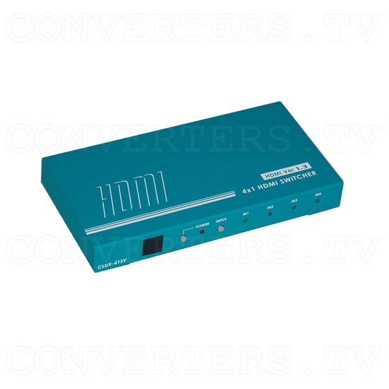 HDMI Switcher - 4 input : 1 output - Full View