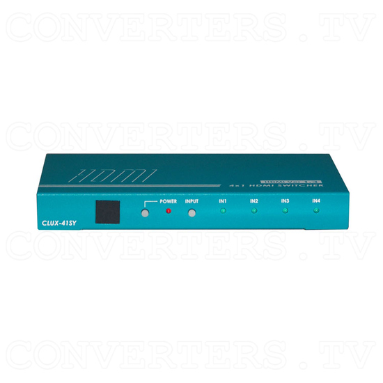 HDMI Switcher - 4 input : 1 output - Front View