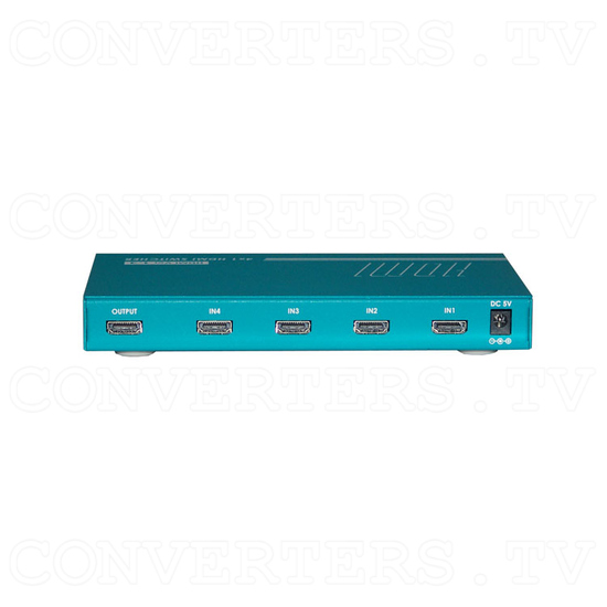 HDMI Switcher - 4 input : 1 output - Back View