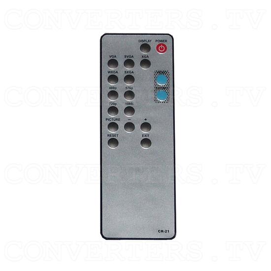 Video to HDMI Scaler Box - Remote