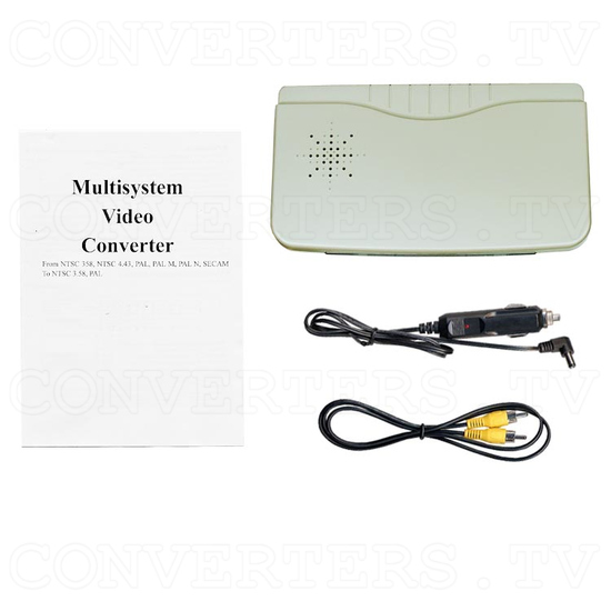 NTSC to PAL (PAL to NTSC) Digital Multisystem Converter - Car Application - Full Kit