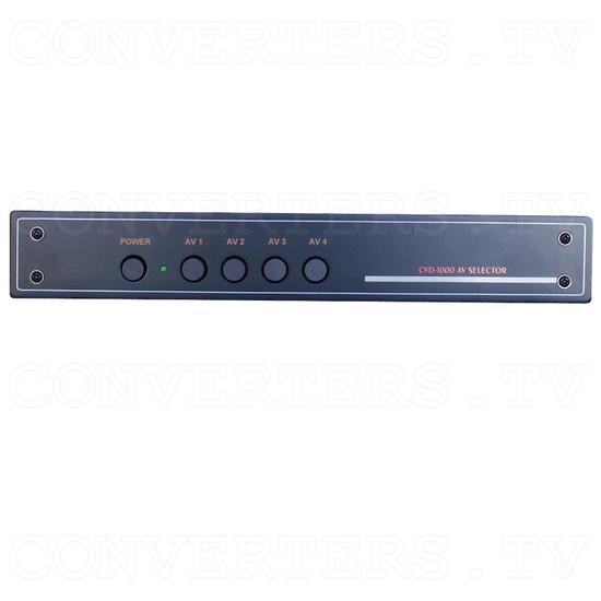 AV Stereo Selector CVD-1000 - Front View