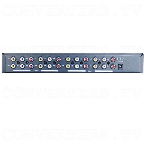 AV Stereo Selector CVD-1000 - Back View