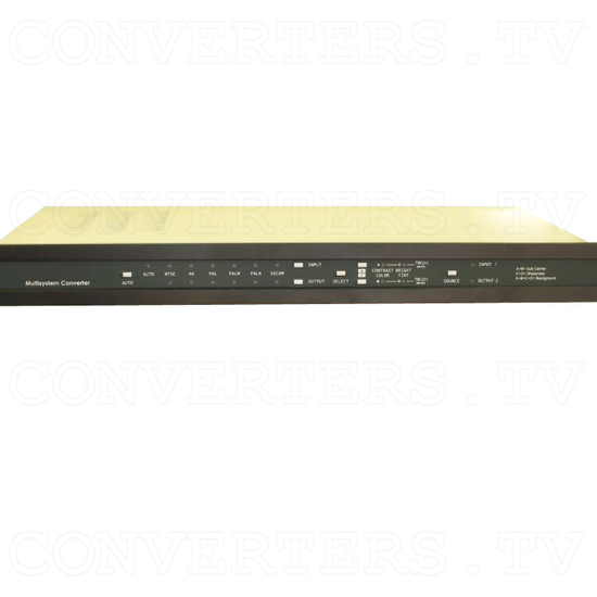 CDM-831TR - Worldwide Multi System Converter with TBC/GENLOCK with 19 Inch Rack - Front View