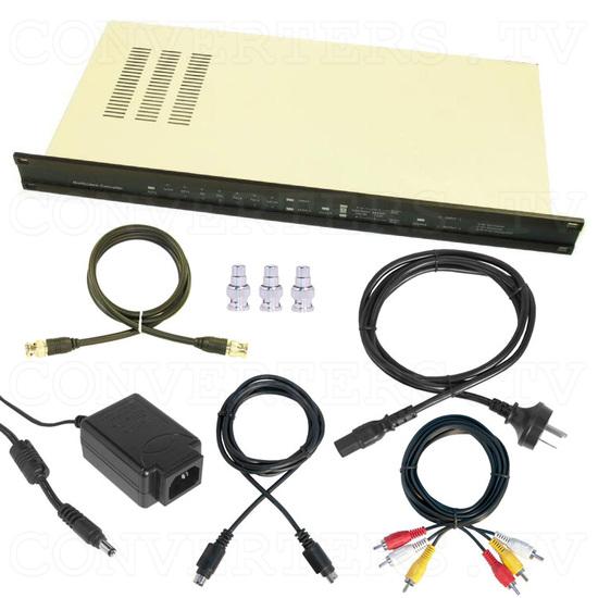CDM-831TR - Worldwide Multi System Converter with TBC/GENLOCK with 19 Inch Rack - Full Kit