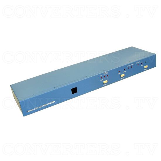HDMI Splitter - 2 input : 10 output - Full View