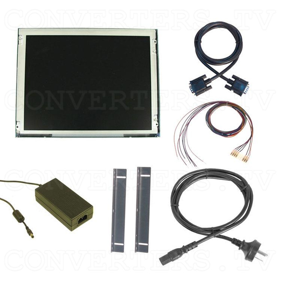 12.1 Inch CGA EGA VGA to SVGA LCD Panel - Full Kit