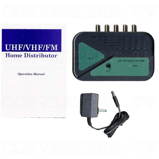UHF - VHF - FM Home Distributor CB-11 - Full Kit