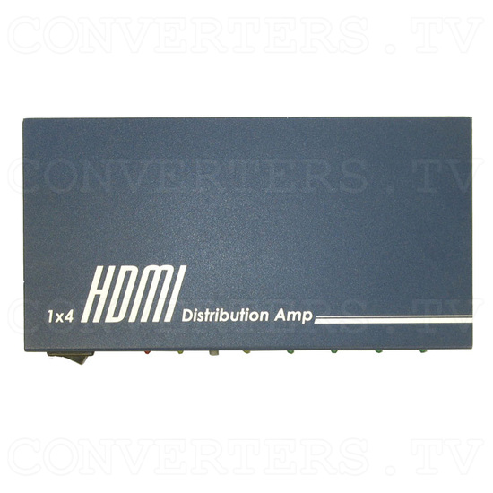 HDMI to HDMI Distributor Amplifier - 1 input : 4 output - Top view