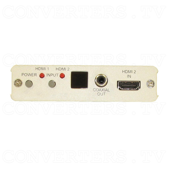 Dual HDMI to Component HD (Y/CrCb/PrPb) Converter - Front View