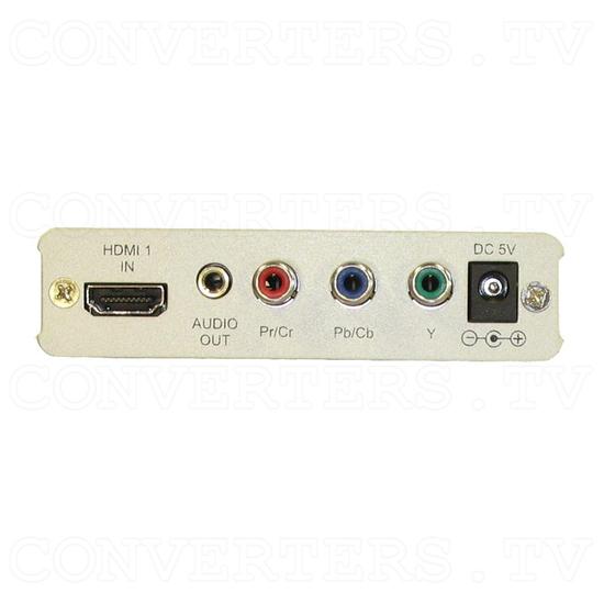 Dual HDMI to Component HD (Y/CrCb/PrPb) Converter - Back
