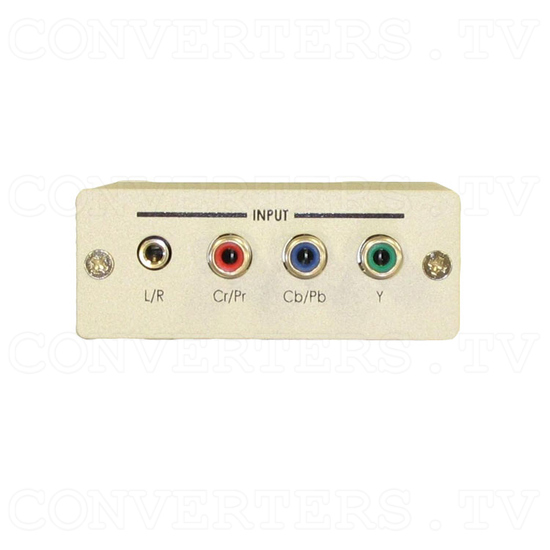 Component Video to HDTV Converter plus Audio - Front View