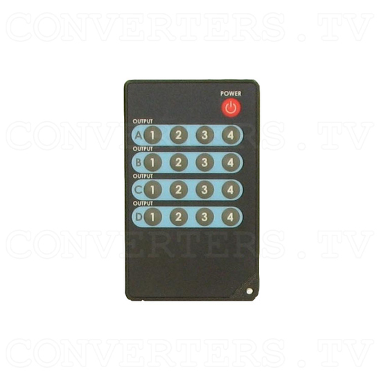 HDMI Matrix Selector - 4 input : 2 output - Remote