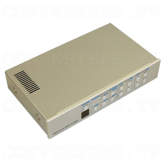 Video to 1080i RGB High Definition Component Converter/Scaler with RS232 - Full View