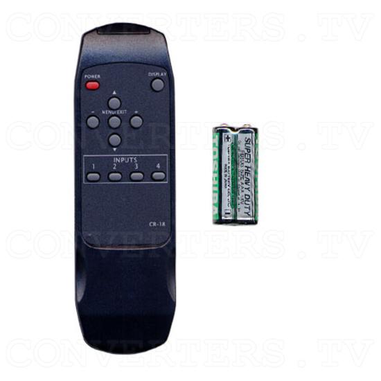 Multisystem Colour Corrector (CCR-8) - Remote Control