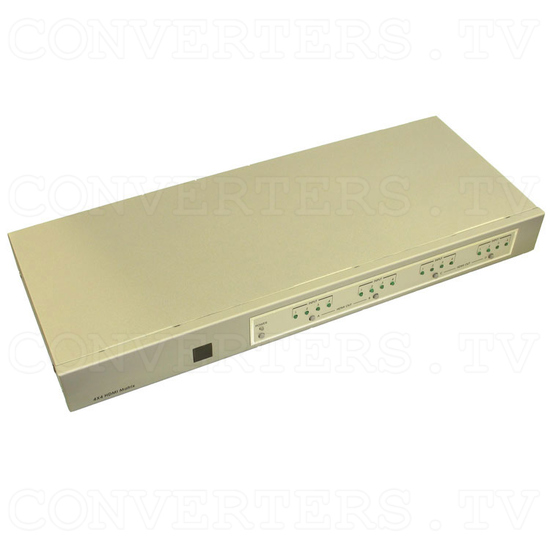 HDMI Matrix Selector - 4 input : 4 output - Full View
