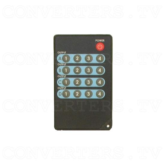 HDMI Matrix Selector - 4 input : 4 output - Remote