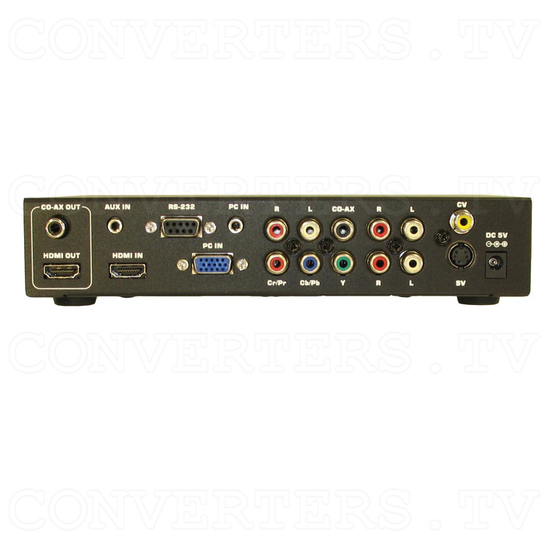 Video to 1080p High Definition Converter - Scaler - Back View
