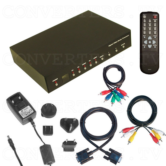 Video to 1080p High Definition Converter - Scaler - Full Kit