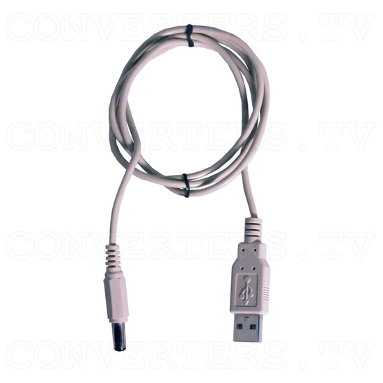 PC VGA to TV Video Converter - Hand View III - USB Power Cable