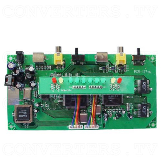NTSC to PAL (PAL to NTSC) Car Multisystem Converter - OEM Car Converter - Top View