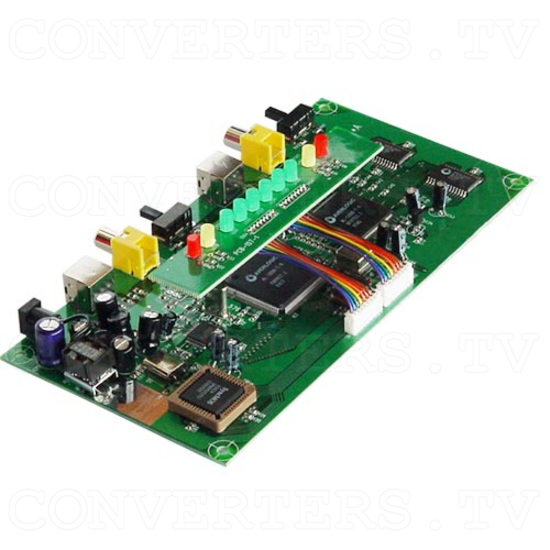 NTSC to PAL (PAL to NTSC) Car Multisystem Converter - OEM Car Converter - Back Angle View