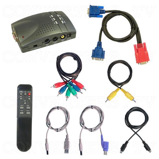 PC VGA to Video TV - Ultimate XP Pro - Full Kit