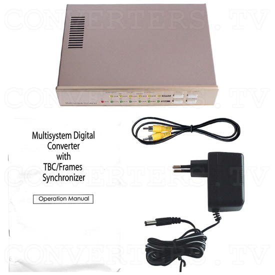 NTSC to PAL (PAL to NTSC) Converter with TBC/Frames Synchronizer (CDM-680) - Full Kit
