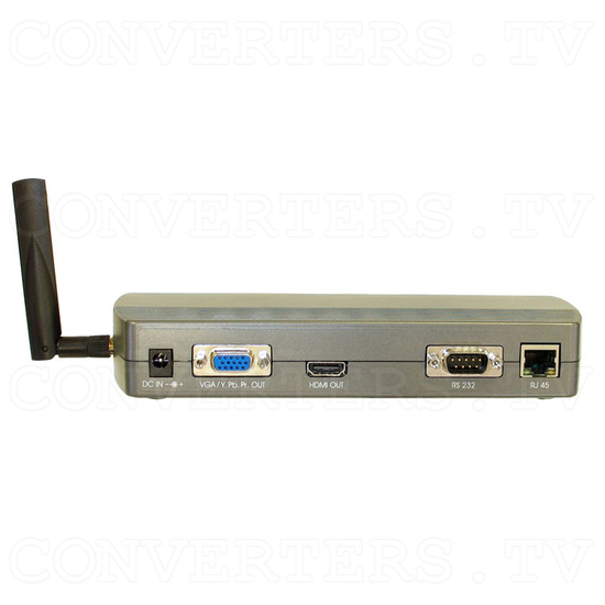 High Definition Digital WiFi Media Player 1080P-1 - Back View